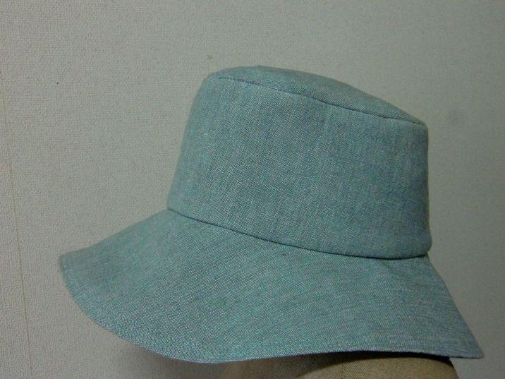 ハギレで帽子