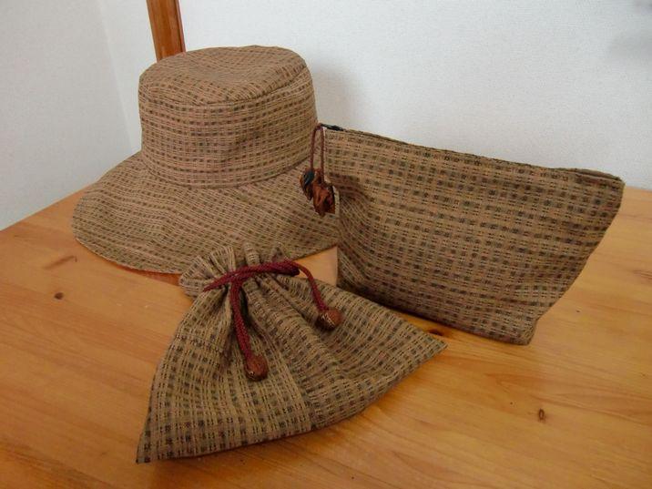 帽子と小物