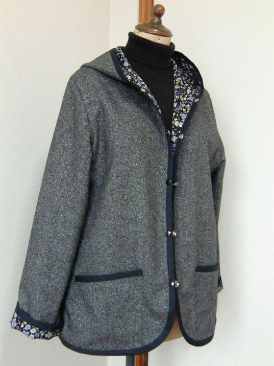 シンプルジャケット(すてきにハンドメイドより)
