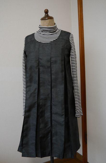ジャンバースカート(娘の友人Nちゃん用)