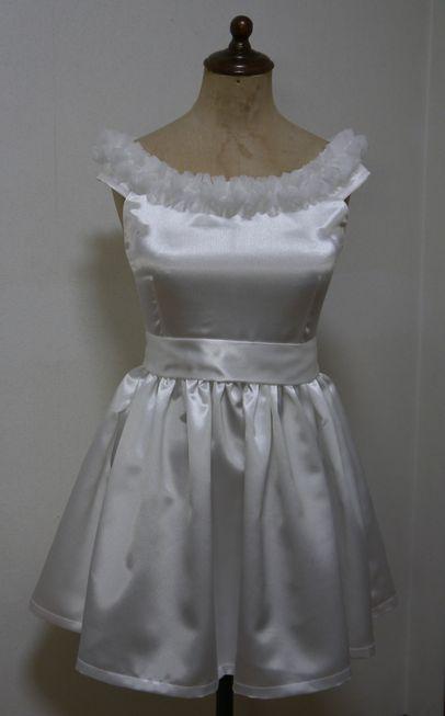 次女のミニドレス(チア用)
