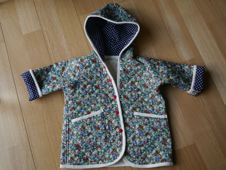フード付きジャケット(サイズ80)