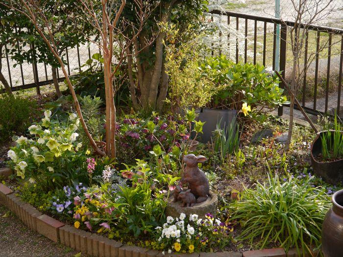 2012 4月初めの庭