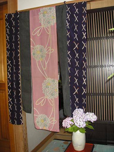 古布の暖簾